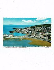 POST CARD COLOUR PHOTO MADEIRA COVE FROM THE AIR, WESTON-SUPER-MARE