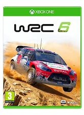 WORLD RALLY CHAMPIONSHIP WRC 6 XBOX ONE EN CASTELLANO ESPAÑOL NUEVO PRECINTADO