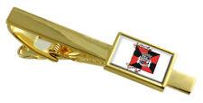 Ciudad de oro de la bandera de Portugal Barreiro Clip de Corbata Grabado Personalizado