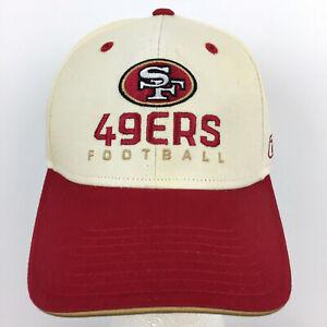 San Francisco 49ers Cap SF Spell Out Logo Niners Reebok Football Trucker Dad Hat