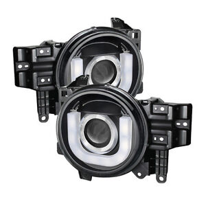Spyder Auto Lighting Projector Headlights LED Toyota FJ Cruiser 07-14 5075314