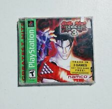 new Tekken 3 Sony PlayStation 1 PS1 Sealed Namco Arcade Fighting Game
