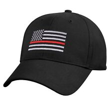 Thin Red Line Low Profile Baseball Cap Fire Department Support Hat 9896