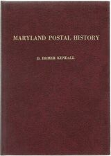 Maryland Postal History Homer D.Kendall 1984 Signed First Edition Scarce