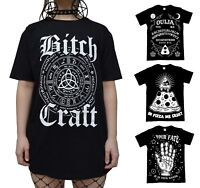Occult Gothic T Shirt - Black Satanic Alternative Clothing - Official Luna Cult