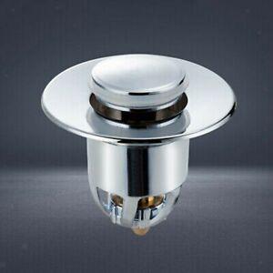 Universal Wash Basin Core Bounce Drain Filter Up Home Bathroom Sink Pop-up Plug