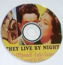 FILM NOIR 002: THEY LIVE BY NIGHT 1948 Nicholas Ray, Cathy O'Donnell, Granger