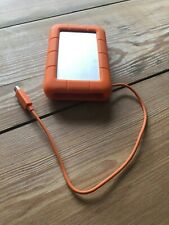 LaCie USB 3.0 Thunderbolt 1TB Rugged Orange External Hard Drive