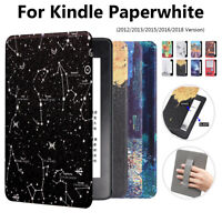 For Amazon Kindle Paperwhite 1/2/3/4 10th Gen Leather Smart Case Magnetic Cover