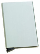Bonn ALUMINUM CREDIT CARD HOLDER -Silver- Brand New in Box - CyberGuard RFID