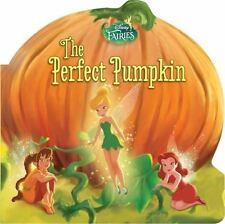 7f03a3221f2a2c THE PERFECT PUMPKIN Board BOOK Baby TODDLER New DISNEY Fairies FAIRY  Learning