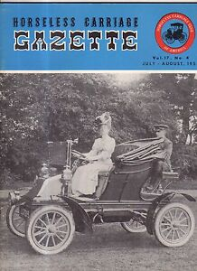 1955 Horseless Carriage Gazette - July - HCCA clubs of Texas; Flanders; Buick