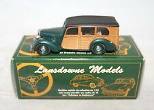Boxed Lansdowne Models 1/43 Scale LDM21 - 1950 Lea Francis Woody Green