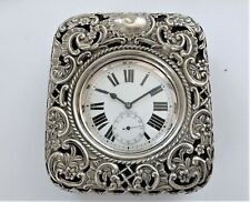 1898 GOLIATH 15 JEWELLED SWISS LEVER POCKET WATCH IN SILVER FRONTED CASE WORKIN