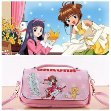 Card Captor Sakura Kinomoto Kero Pencil Case Holder Wallet Shoulder Bag Handbag