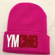 Unisexe hommes womans knit knitted beanie rétro cool ymcmb rose