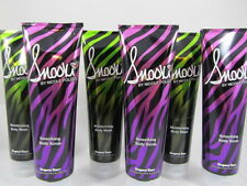 SNOOKI SMOOTHING BODY SCRUB EXFOLIATOR & BODY WASH by SUPRE - 6 PACK/3 OF EACH