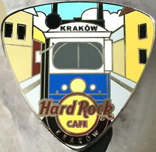 Hard Rock Cafe KRAKOW 2014 GUITAR PICK PIN with Train Car - LE 200 - HRC #77373