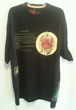 Mens Massive Revolution 4X Black T-Shirt Tiger Speed Club Reward Purple Heart