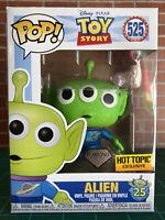 Funko PoP! Disney Toy Story Diamond Collection Alien #525 Hot Topic Exclusive
