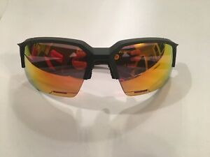 100% SpeedCoupe Soft Tact Black HiPER Red Multilayer Mirror Lens - Didnt Sagan??