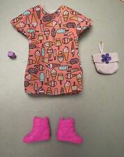 Neuve Tenue outfit fashion set ensemble BARBIE FASHIONISTAS 56 + cadeau