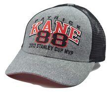 Chicago Blackhawks NHL Hockey MVP Player Patrick Kane Snapback Truckers Cap Hat