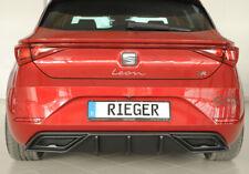 Rieger CUP Diffusor für Seat Leon KL FR Heck Ansatz Stoßstange Splitter ABS