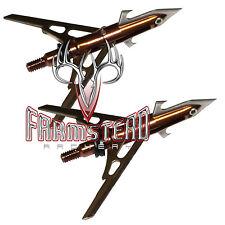 "Rage 4-Blade Expandible Broadhead Turkey X-Treme 2 1/8"" 100 grain 2 Pack #01187"