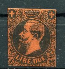 1863 Regno Saggi Saggio Prova originale Ronchi lire 2