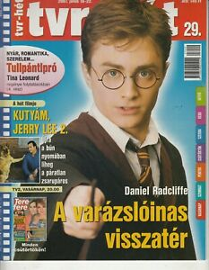 DANIEL RADCLIFFE ,HARRY POTTER , BROOKE SHIELDS, VANGELIS  2 Hungarian magazines