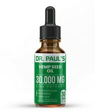 Hemp Oil Drops For Pain Relief, Stress, Anxiety,Sleep 30,000mg BUY 2 GET 1 FREE