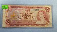 1974 Canada 2 Dollar P# 86a VG/F Circulated Condition!