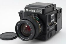 2921#GC Mamiya 645 Super Medium Format Film Camera w/ 55mm f/2.8 lens Excellent
