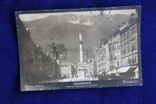 original Foto auf Innsbruck im Tirol Österreich um 1900