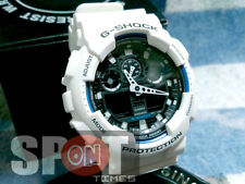 Casio G-Shock X-Large White World Time Men's Watch GA-100B-7  GA100B 7