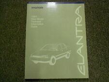 1991 HYUNDAI ELANTRA New Service Model Technical Information Guide Manual OEM