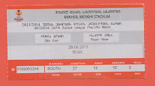 Orig.Ticket    Europa League 13/14    FC DILA GORI - SK RAPID WIEN  !!  SELTEN