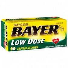 Bayer Low Dose Aspirin Regimen - 400 Tablets 81 mg enteric coated