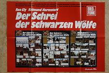 (P175) KINOPLAKAT Der Schrei der schwarzen Wölfe (1972)