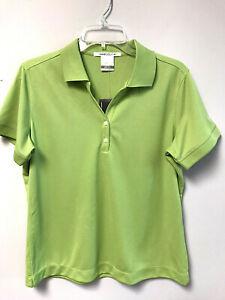NikeGolf Women's Dri-Fit Golf Shirt - Size Large - Green - NWT
