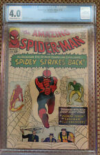 The Amazing Spider-Man #19 (Dec 1964, Marvel Comics) CGC 4.0  Human Torch