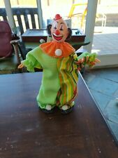 VINTAGE CLOWN DOLL HANDMADE 1960-1970's CREEPY SCARY AWESOME NEW HAUNTED FRIEND
