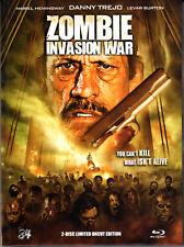 Zombie Invasion War , Uncut , Limited Mediabook - 3D BluRay + DVD , new