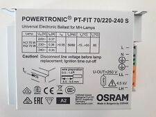 OSRAM POWERTRONIC PT-FIT 70W ALIMENTATORE ELETTRONICO IODURI CDM HQI HCI CMH