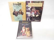 MES-53490Teddybär/Spielzeug Literatur 3 St. Bücher mit leichte Gebrauchsspuren,