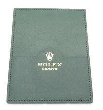 Rolex Card Holder Green Leather Unworn $NR No Reserve Auction!!!