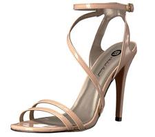 Michael Antonio Women's Ester-Pat Dress Sandal, Nude, 9 M US