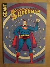 SUPERMAN GEANT (Sagedition) - T1 : avril 1979