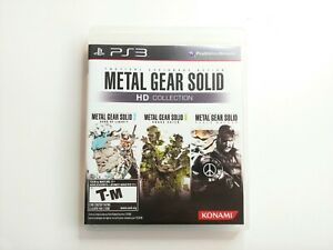 Metal Gear Solid HD Collection (Sony PlayStation 3, 2011) Complete